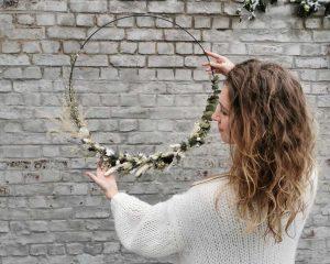 Droogbloemenkrans ⌀ 60 cm