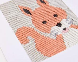 Borduurpakket: Eekhoorn